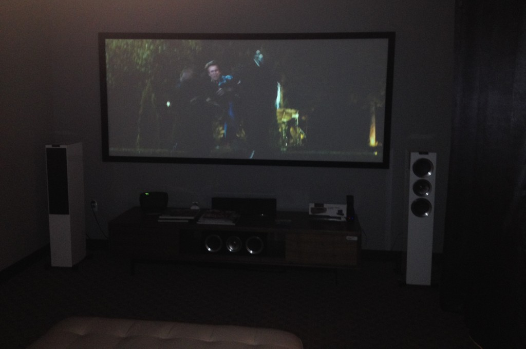 Krell Foundation Chrous Home Theater Los Angeles