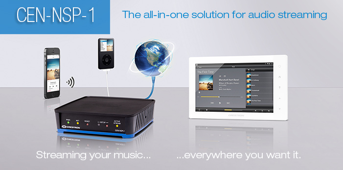 Crestron Apple Airplay Music Solution Home Automation Monaco AV
