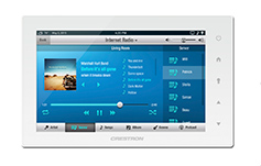 Crestron Apple Airplay Touch Screen