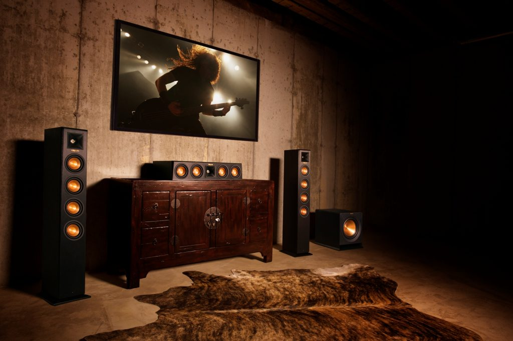 Klipsch RP-440WF & RP-440WC & RP-110WSW wireless home theater